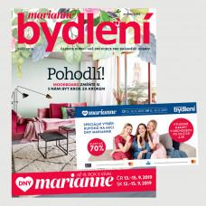 Aktuální vydání Marianne Bydlení 9/2019 + kupónová knížka Dny Marianne(pouze pro ČR)