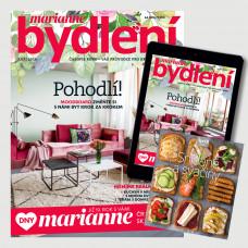 Roční kombinované předplatné Marianne bydlení + Kuchařka Snídaně a svačiny