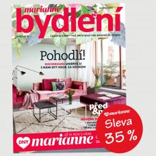 DNY MARIANNE: Roční tištěné předplatné Marianne Bydlení  se slevou 35%