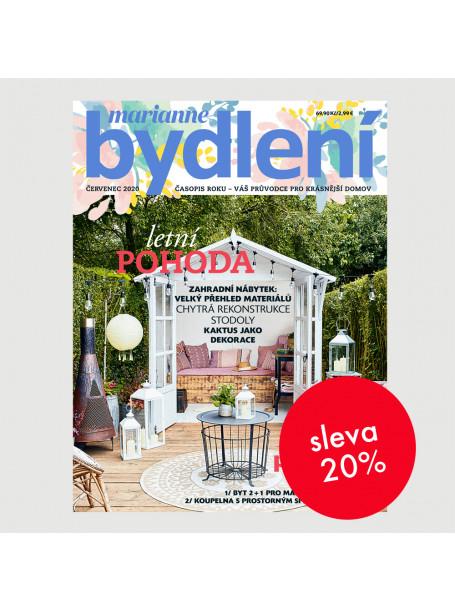 Čtvrtletní tištěné předplatné Marianne Bydlení  se slevou 20 %