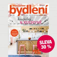 Roční tištěné předplatné Marianne Bydlení  se slevou 30%