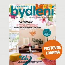 Aktuální vydání Marianne bydlení 5/2021 + POŠTOVNÉ ZDARMA (pouze pro ČR)